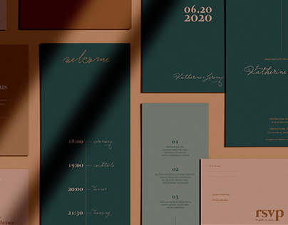 Contemporary Wedding Suite - Katherine & Jeremy