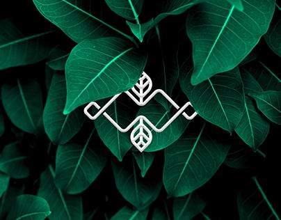 Logo design for craft soap shop called Woods & Mosses
