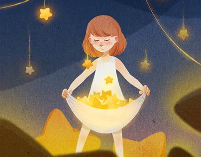 La petite voleuse d'étoile (Stars little thief)