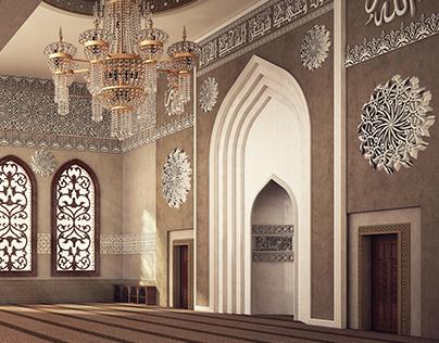 Pics for mosque interior design for Mosque exterior design