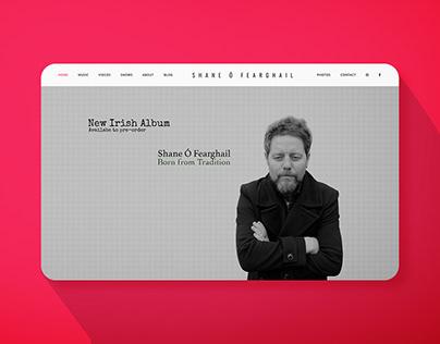 Shane O Fearghail Website