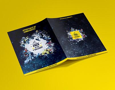 Brochure design / Grand Prix Ski-doo Valcourt 2019