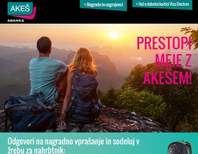 Prestopi meje z Akešem web app