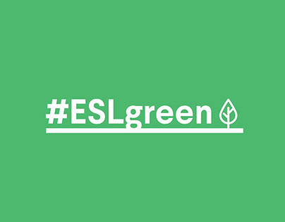 ESL Green - Corporate Social Responsibility Logo Design