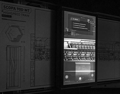 «Train of the Future» Dynamic Touch Panels