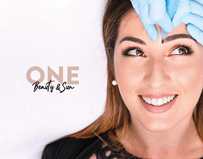 ONE - Beauty & Sun | Digital Brand Identity & Campaign