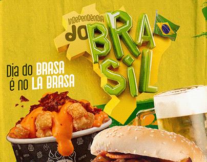 LA BRASA - INDEPENDÊNCIA DO BRASIL