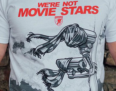 PG Wear T-shirt - We're not movie stars