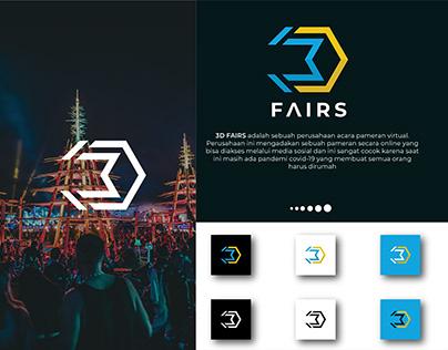 logo 3D fairs ( logo for festival )