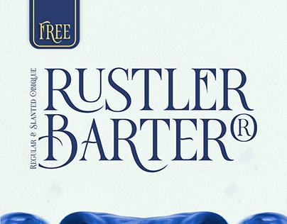 Rustler Barter® - Free Font