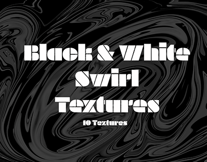 Black And White Swirl Textures