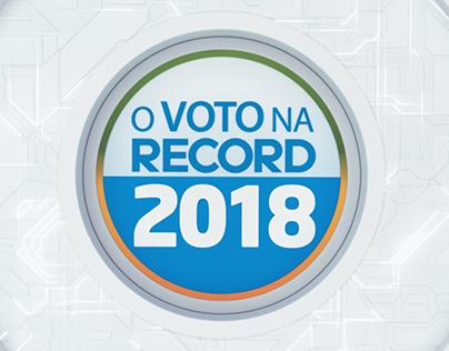 O Voto na Record 2018