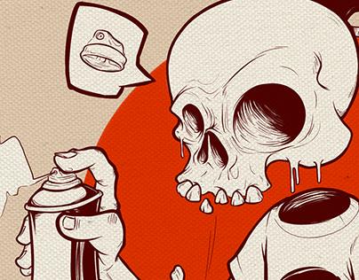 Illustration - The Skull