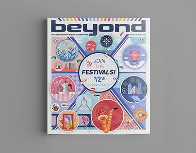 beyond magazine cover design