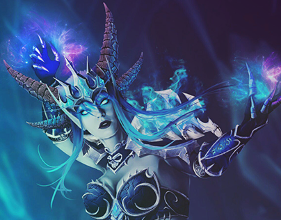 Warcraft inspired Sindrgosa Dragon Queen