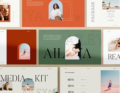 AILEYA - Powerpoint Media Kit