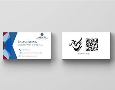 HIAMUN Business Cards