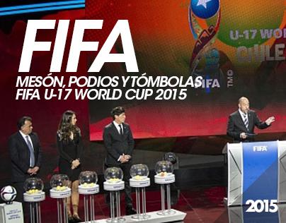 Mesón, podios y tómbolas - FIFA U-17 World Cup 2015