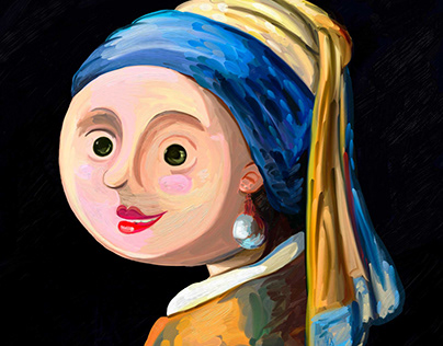 The Small Girl with a Pearl Earring