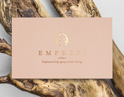 EMPRESS - body agency and skin therapy creative logo