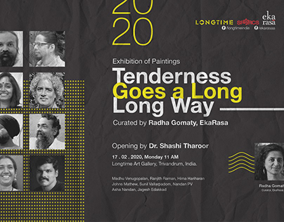 Long Time Art Exhibition Posters