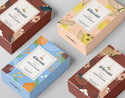 Délassant Incense Stick Packaging Design