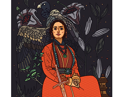 'The Young Empress' - Personal Project