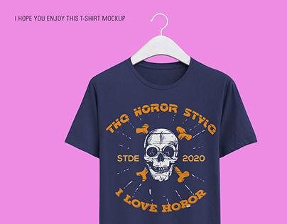 THE CREATIVE LOVELY HORROR BRANDING T-SHIRT DESIGN