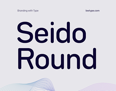 Bw Seido Round typeface