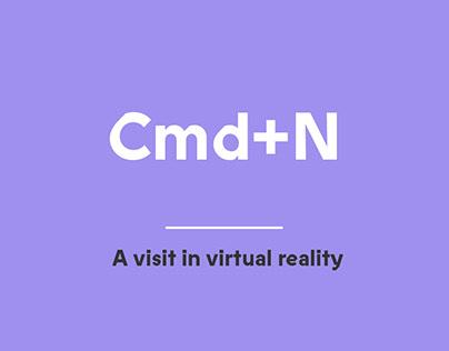 Cmd+n