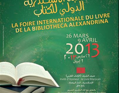 La foire internationale du livre (poster and banner)