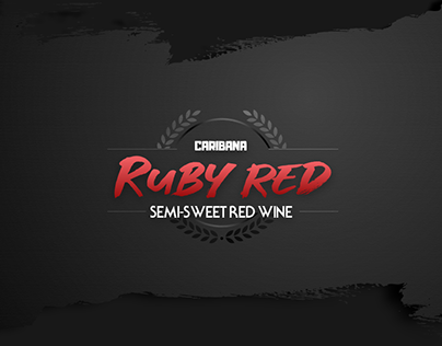 Wine Label design for Caribana