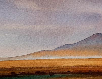 Акварельныекарапульки. Монголия. Май 2019