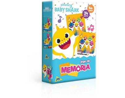 Baby Shark | Jogo de memória | JAK | Toyster