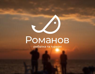 Романов –логотип для мережі магазинів