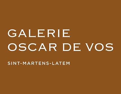 Logodesign 'Galerie Oscar De Vos'