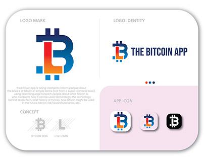 Bitcoin App logo design | brand identity
