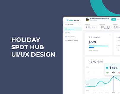Holiday Spot Hub UI/UX Design