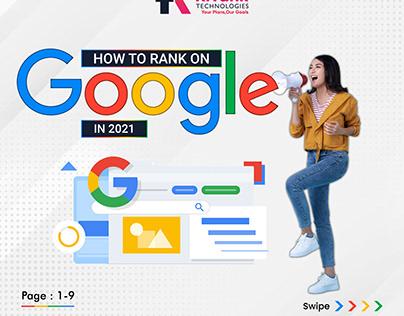 Google Ranking Post