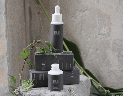 Rue - Nordic Beauty | Branding, Packaging, Website