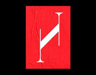 Dirigent - an experimental typeface