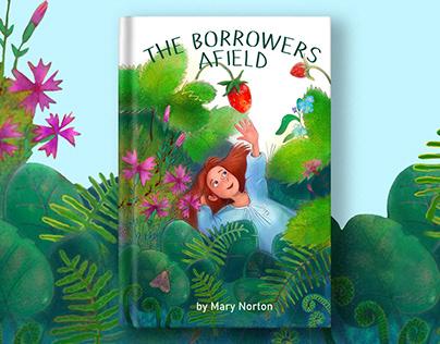 """""""Borrowers Afield"""". Book illustration"""