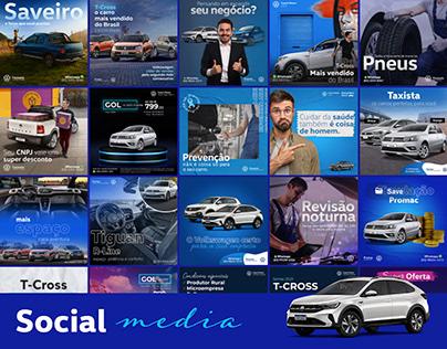 Social Media 2020 - Concessionárias Volkswagen