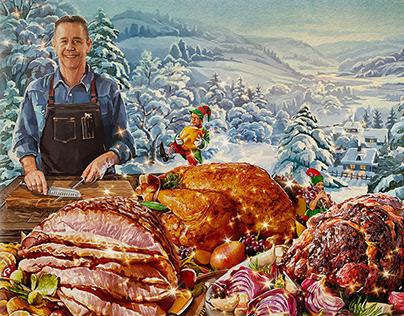 Raley's Holiday. Storyboard