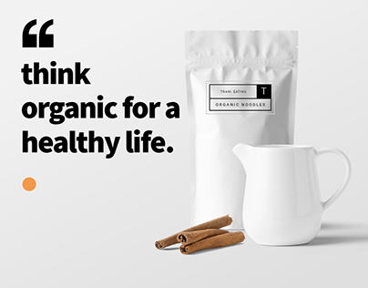 think organic for a healthy life.
