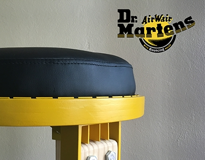 Dr. Martens flat-pack stool (2015)