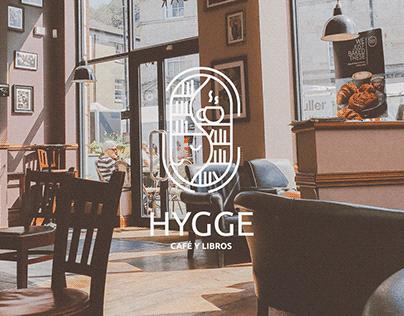 HYGGE Cafetería branding