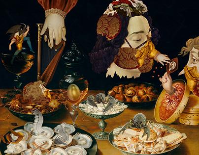 Feast. Quarantine.
