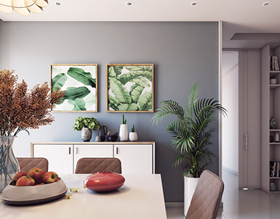HA Apartment Design Modern Minimal Style