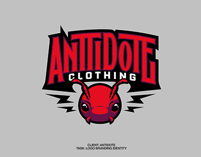 Anttidote Clothing Brand Design